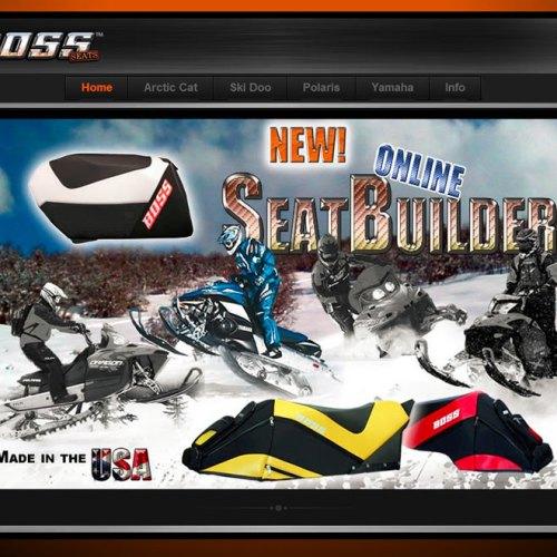 Website Design Complete – www.BossSeats.com