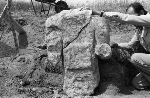 Mateus Rèntius, Franciscus Secundus Pìlarus e sa cunchista romana de Mont'e Prama