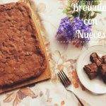 Receta de Brownies con Nueces Caseros
