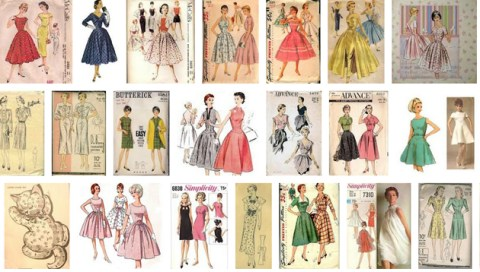 Guest Post The Best Vintage Sewing Patterns Free PDF Downloads Sewing Pattern Design