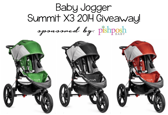 Baby Jogger Summit X3 giveaway