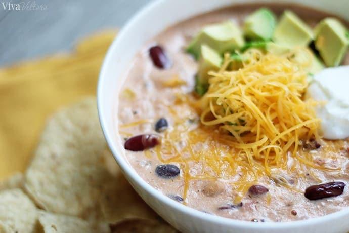 crock pot taco soup