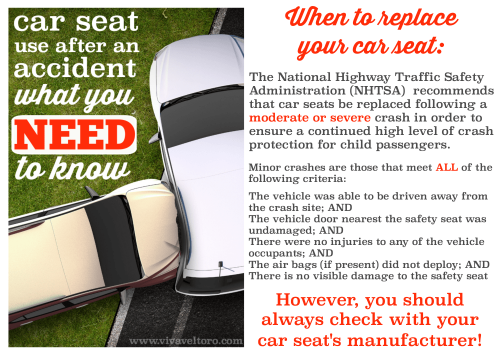 Car Seats Need To Be Replaced After Car Accident