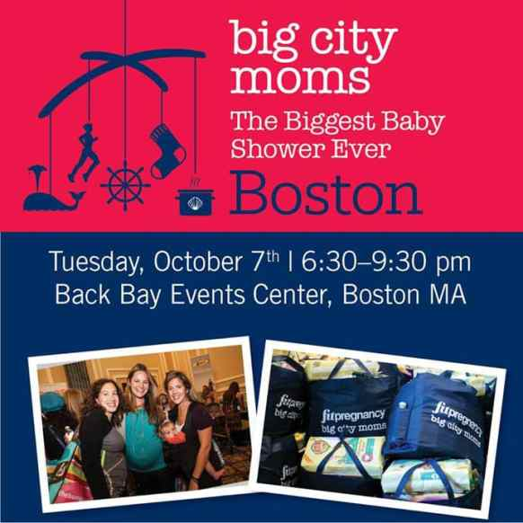 biggest baby shower ever in boston by big city moms recap