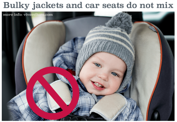 Puffy Jackets And Car Seats