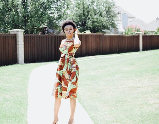 Tribal print vintage inspired sundress posted By Vivellefashion