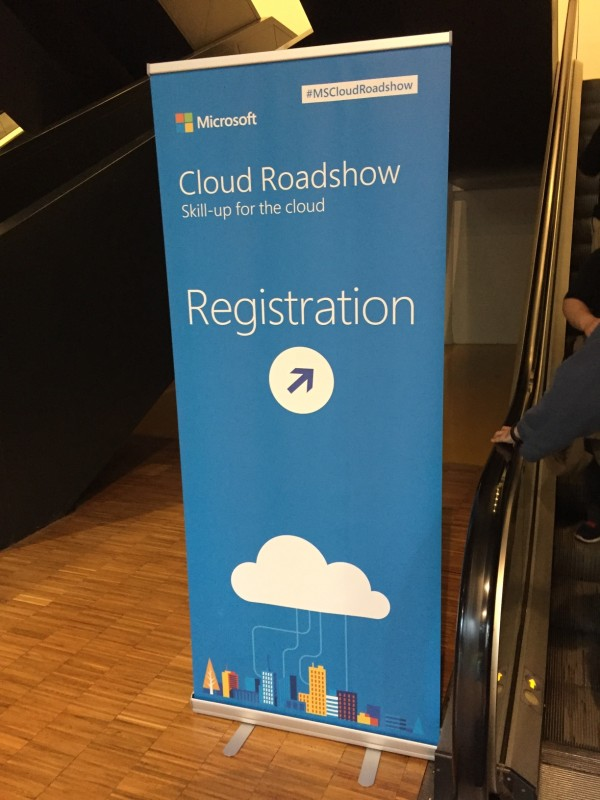 La nostra esperienza al Microsoft Cloud Roadshow