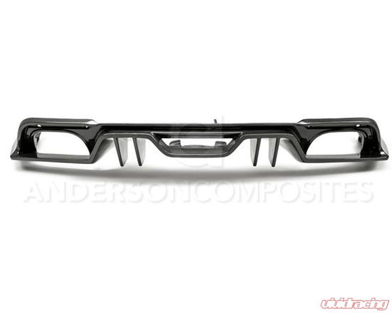 ford mustang rear diffuser