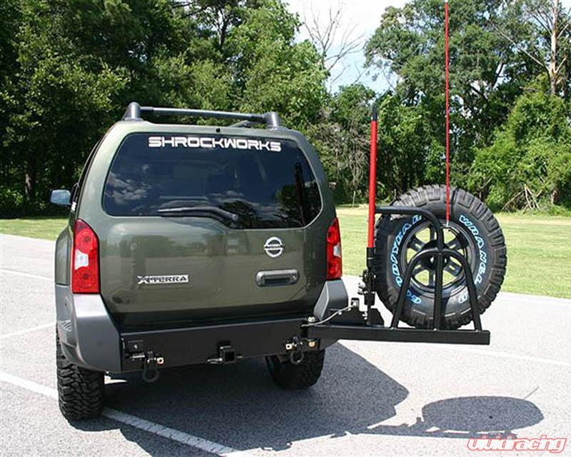 Nxtr1 Trak 01a Shrockworks Tire Rack Nissan Xterra 00 04