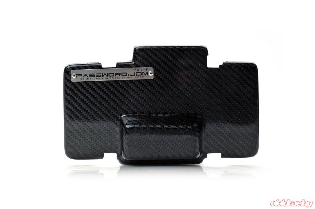 Password JDM Dry Carbon Fiber Fuse Box Over-Cover Acura RSX 02