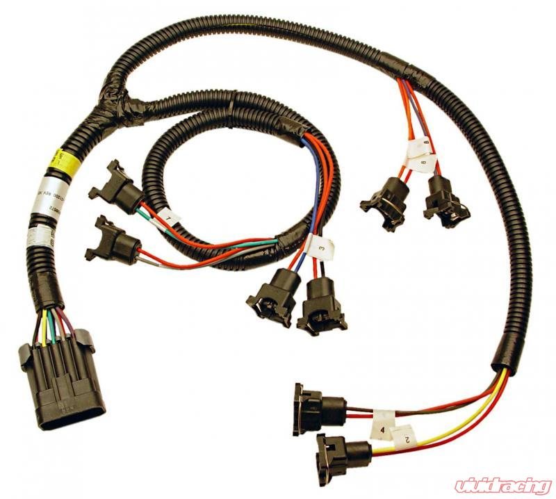 FAST Wiring Harness, FI 4And7 Swap Sbc And Bbc