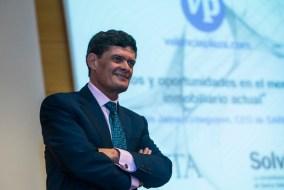 Jaime Echegoyen en el Foro 'Retos y oportunidades del mercado inmobiliario actual'