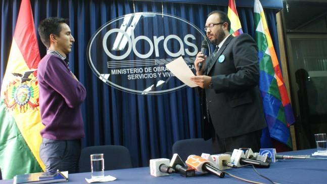 Delgadillo, nuevo Viceministro de Vivienda de Bolivia