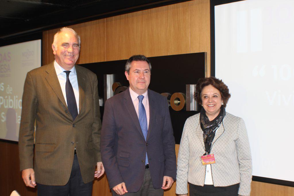 El alcalde se Sevilla propone extender al área metropolitana la labor de la promotora municipal de vivienda