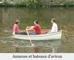 Annexes et bateaux d'aviron