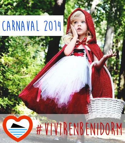 Carnanval Vivir en Benidorm 2014