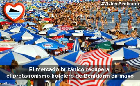 Británicos en Benidorm