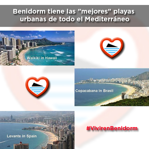 Benidorm mejor playa urbana