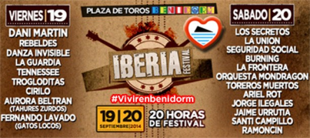Iberia Festival Benidorm 2014