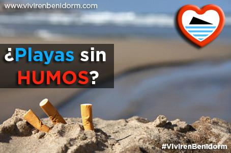 No fumar en las playas de Benidorm