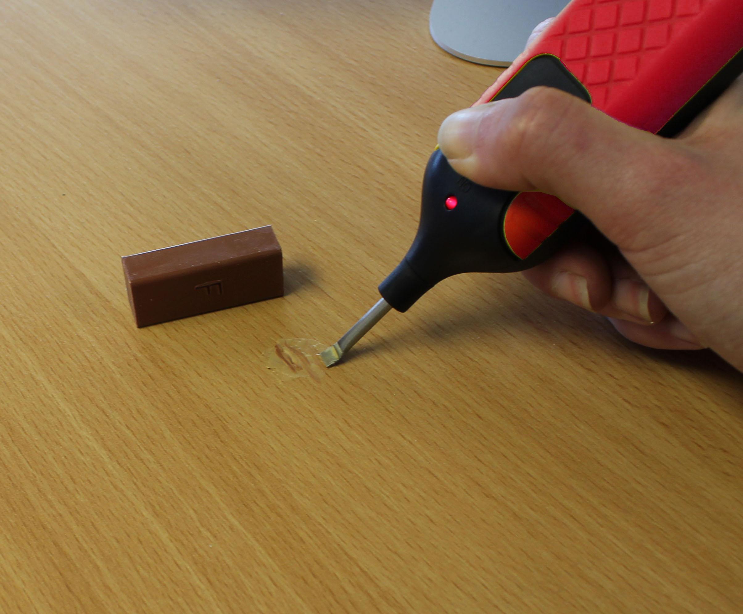 19pc Laminate Floor Worktop Repair Kit Wax System Sturdy