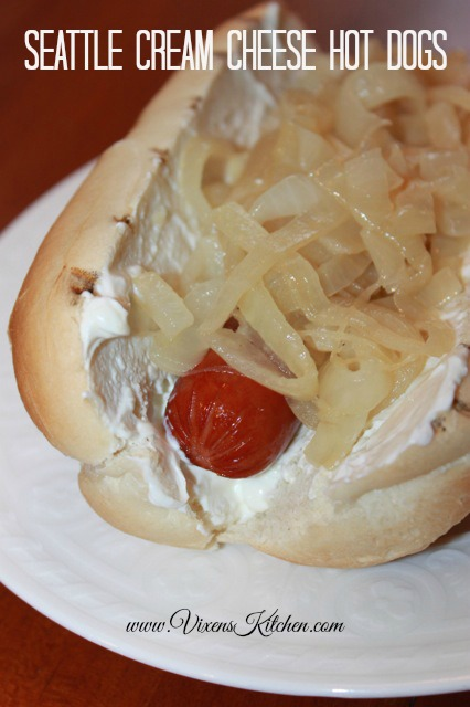 Seattle Cream Cheese Hot Dogs!