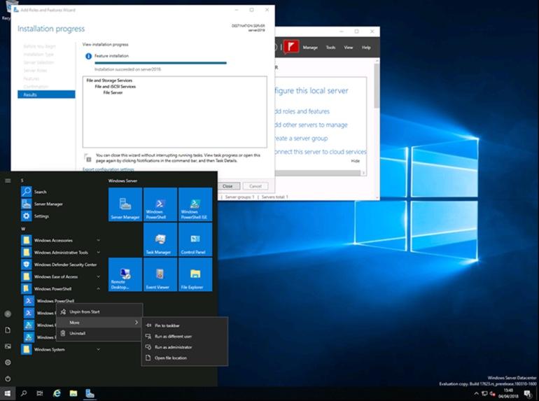 Windows Server 2019 GA Download ESX Virtualization