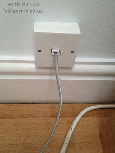 Moving BT Infinity DSL from Master Socket to Any Household Extension