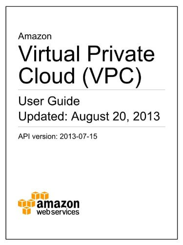 Free Offical Amazon VPC  EC2 Cloud Guides for Beginners - VMi