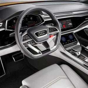 d'Audi Q8 de véhicule hybride 1
