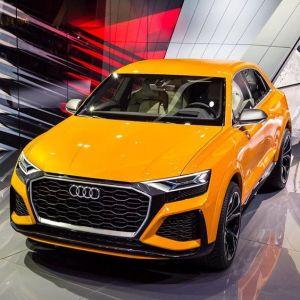 d'Audi Q8 de véhicule hybride