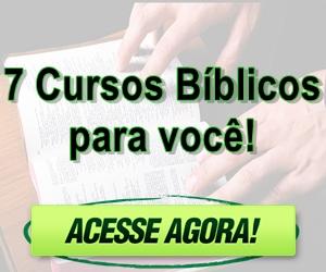 7 cursos bíblicos para você