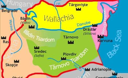 taratul vlaho bulgar situatia politica a vremii anului 1187-1261