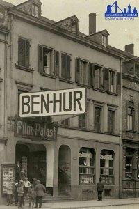 Im Zentral-Kino läuft 1928 Ben-Hur © Günther Theis