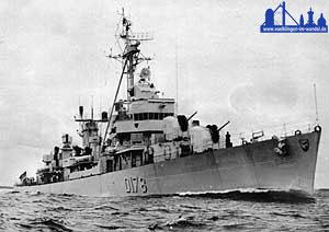 Vom 21. Mai 1960 bis 24. März 1999 tat die Völklingen, ein Küsten-Minensuchboot (Klasse 320) ihren Dienst für die Marine - übernommen von Lettland ist sie inzwischen außer Dienst