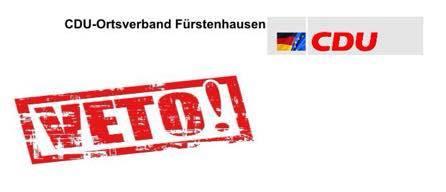 CDU Fürstenhausen: VETO!