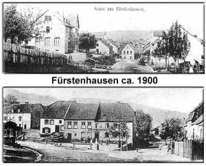 Fürstenhausen um 1900