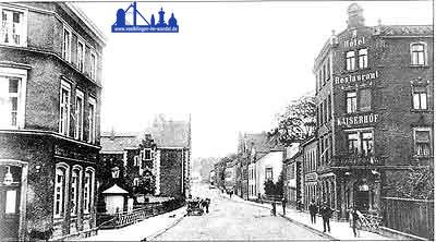 Die heutige Karl-Janssen-Straße 1913