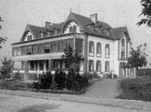 """Richardstift"" - Bild ca. 1910 (Quelle:""Völklingen vormals"")."