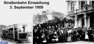 Straßenbahn in Völklingen 1909