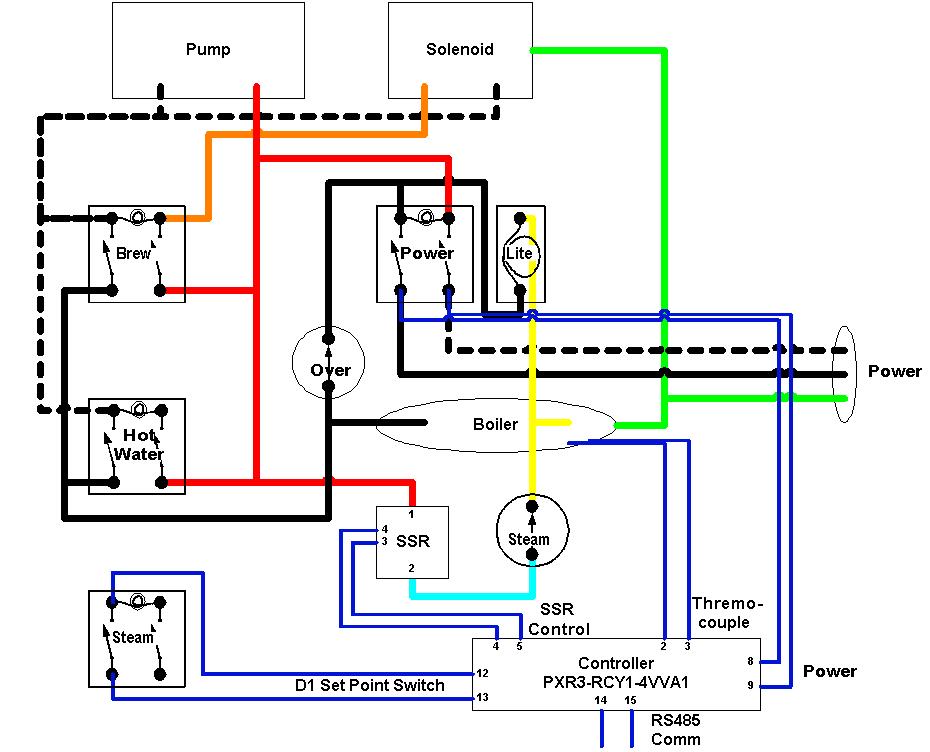 traeger grill wiring diagram