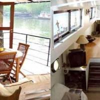 Parigi: una casa galleggiante sulla Senna a 10' dal centro