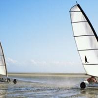 Picardia: via col vento sulla spiaggia