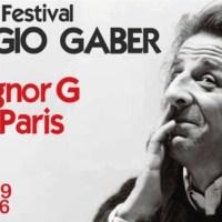 Parigi: Hommage à Giorgio Gaber