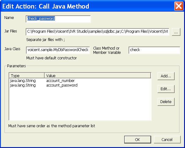 IVR Database Use Voicent