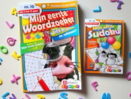 denksport, mijn eerste woordzoeker, sudoku