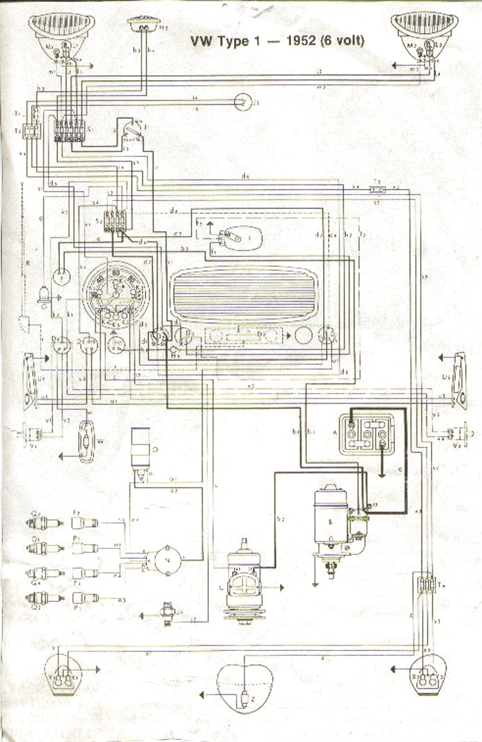Vw Wiring Schematic Wiring Diagram