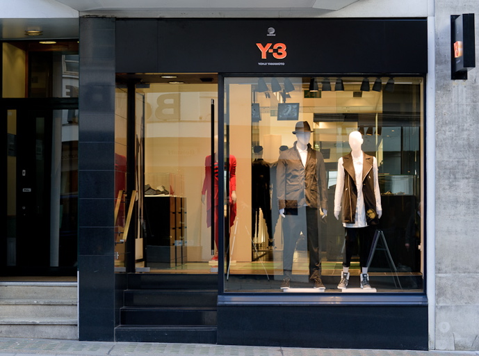 Y 3 Flagship Store Opens In Conduit Street Volt Cafe