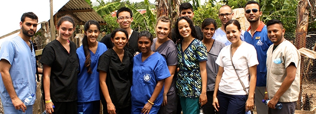 Get Involved - Volunteers Around the World