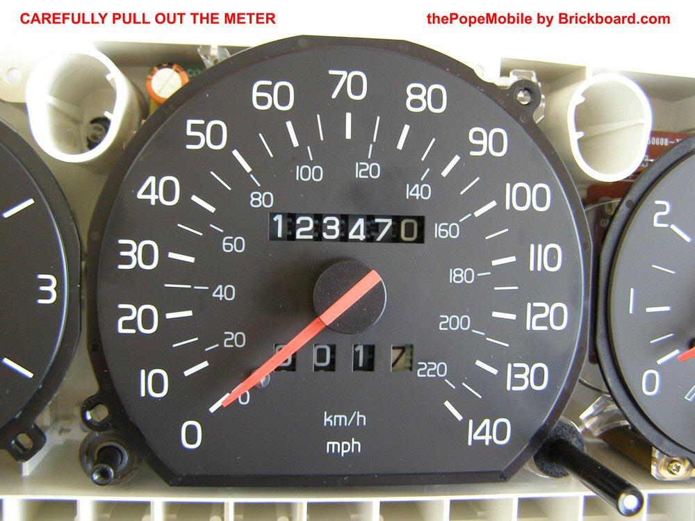 Volvo 700/900 Speedometer Repair